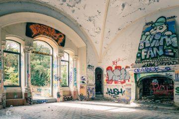 Château de Boisseron abandonné