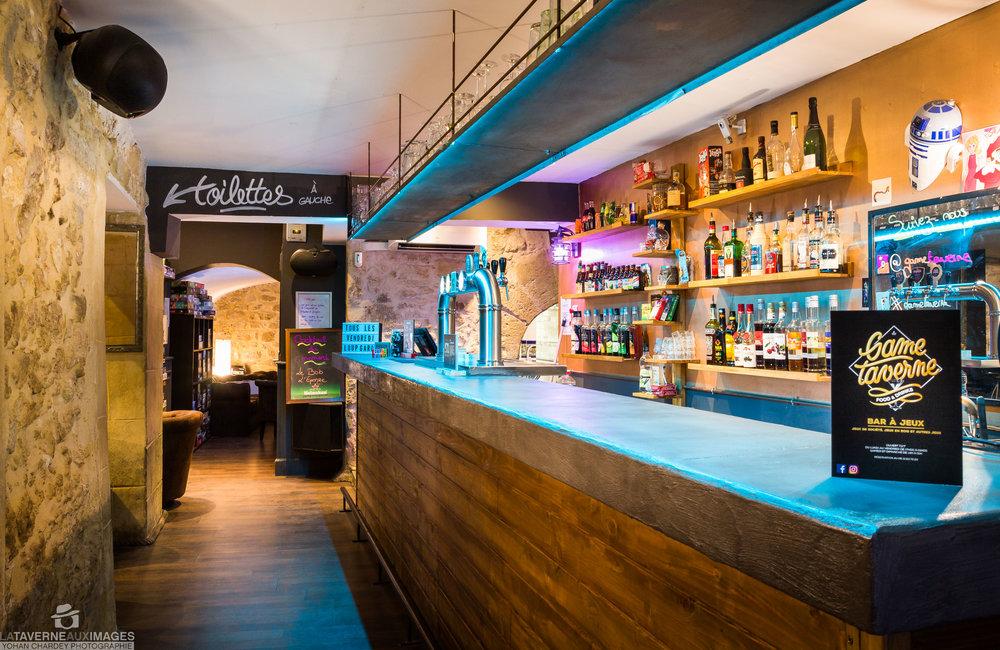 Bar de la Game Taverne à Montpellier