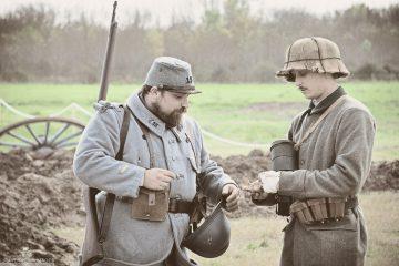 Reconstitution première guerre mondiale à Lattes